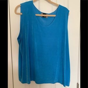 Slinky Brand blue tank top